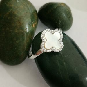 NWT, Sterling Silver Mother Pearl Cz flowe…